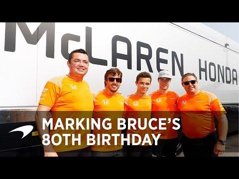 Commemorating Bruce's 80th Birthday