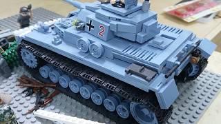 Обзор Детской LEGO-Самоделки: Первые Дни Войны