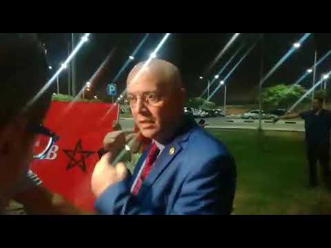 العرب اليوم - شاهد: الجماهير المغربية في انتظار وصول