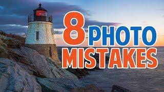 Top 8 Beginner Photographer Mistakes