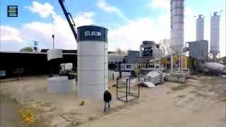 ELKON Elkomix-135 Stationary Concrete Batching Plant Installation