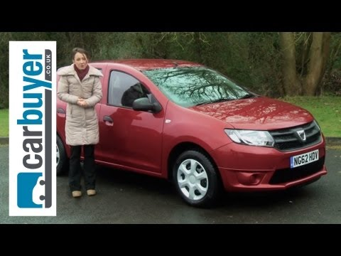 Dacia Sandero hatchback 2013 review - CarBuyer