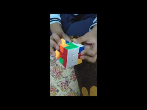 Child solves Rubik's Cube in record time