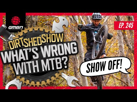 What Are The Worst Things About Mountain Biking? | Dirt Shed Show Ep. 245