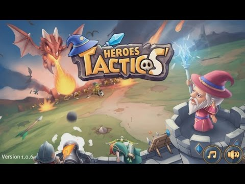 Heroes Tactics: War & Strategy - Android Gameplay HD