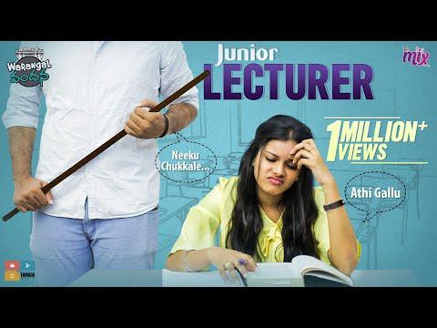 Junior Lecturer    EP 14    Warangal Vandhana    The Mix By Wirally