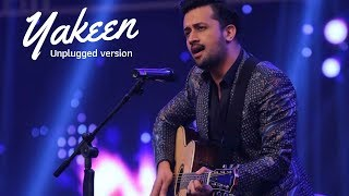 Yakeen - Unplugged by Atif Aslam live at Hum Awards 2016