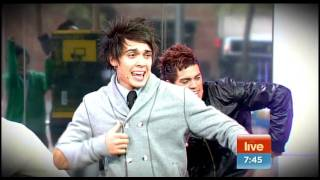 Justice Crew on Sunrise 19th of may