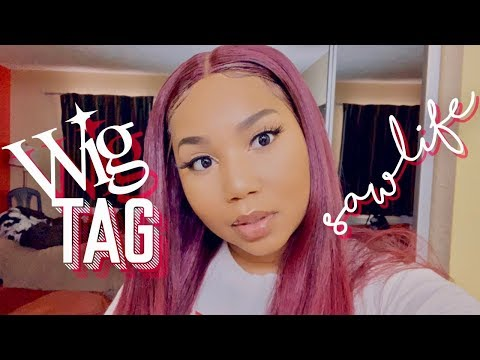 #WigTag x SAWLIFE  COLLAB WITH ASIAH UNIQUE