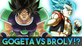 GOGETA VS. BROLY IN THE 2018 DRAGON BALL SUPER MOVIE!? How Likely Is It?