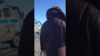 Авария на дороге Самар-Уральск(Казахстан)