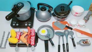 Đồ chơi nấu ăn cho bé 36 món, chơi nấu cơm, nướng thịt, chiên cá... Kitchen toys kids (Chim Xinh)