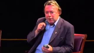 Hitchens delivers one of his best hammer blows to cocky audience member