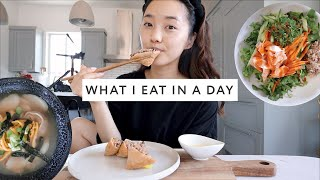 What I Eat In A Day 🇰🇷 More Korean Recipes