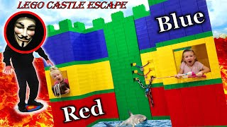 Giant Lego Fort - The Movie!!!
