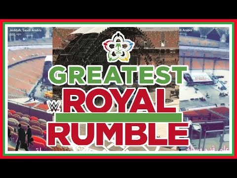 News   WWE Greatest Royal Rumble Leaked Stage Images!!!