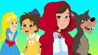Czerwony Kapturek Pinokio Bajka Calineczka - bajka dla dzieci po Polsku - Bajki na Dobranoc