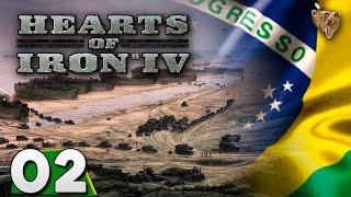 "Hearts of Iron IV Brasil #02 ""Cadê a indústria?"" - Gameplay Português Vamos Jogar PT-BR"