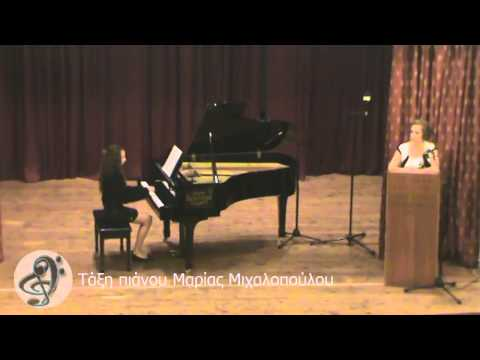 Βαρβάρα Γιδοπούλου Sonatina op 36 No 3 α μέρος Clementi