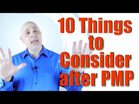 10 Things to Consider after PMP Certification - YouTube