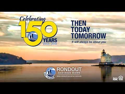 Celebrating 150 years of Rondout Savings Bank