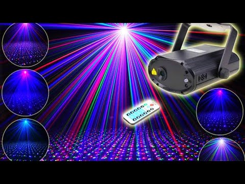 RGB лазерный проектор ESHINY / RGB laser projector ESHINY