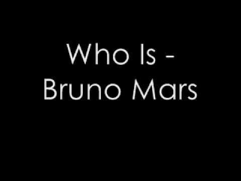 Who Is - Bruno Mars