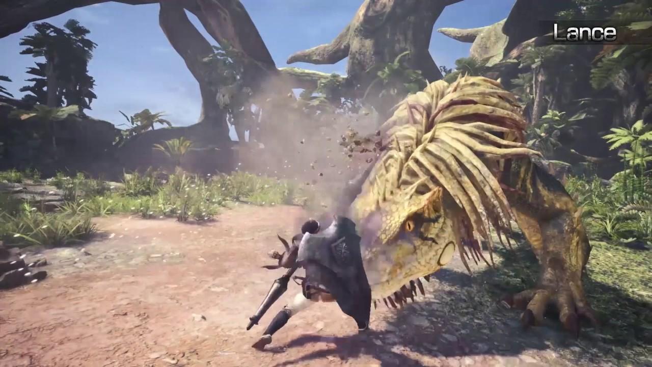 Monster Hunter: World - Heavy Weapons trailer