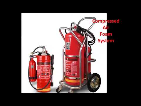Water-mist Based Compressed Air Foam System (High Pressure)
