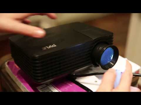 Pyle PRJG88 Video Projector Portable, Home Theater Projector Review, Great projector for home use!