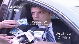 DiFilm  Funeral De Nestor Kirchner  Declaraciones De Sergio Massa 2010
