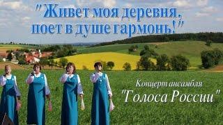 Голоса России -Живёт моя деревня, поёт в душе гармонь