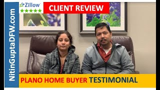 Another 5-Star review from first time home buyer clients! Dallas Buyers Agent