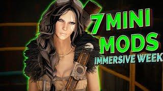 Fallout 4 IMMERSIVE WEEK 2 - 7 MINI MODS