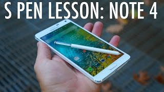 S Pen Lesson: Galaxy Note 4 Edition | Pocketnow