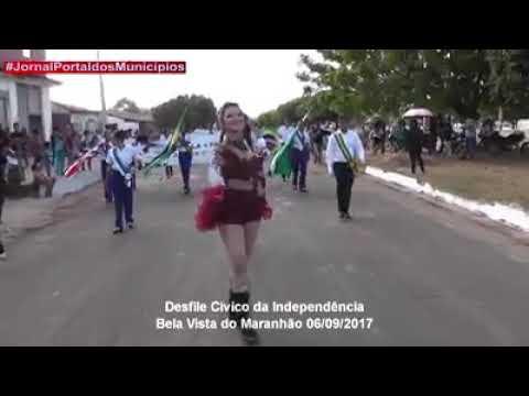 Desfile da Independência em Bela Vista do Maranhão