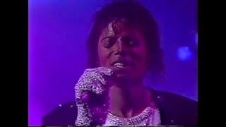 Michael & The Jacksons  - Billie Jean  - Victory Tour Toronto 1984 (High Quality)