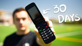 I Used A Flip Phone for 30 Days