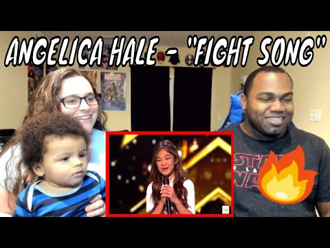 Angelica Hale Receives Golden Buzzer From Howie Mandel! America's Got Talent: The Champions REACTION (видео)