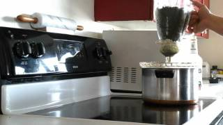 Making shatter without butane or vacuum chamber