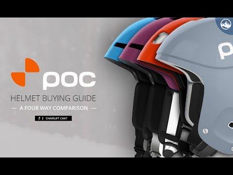 POC Helmet Comparison -  Receptor Bug 2.0, Fornix, Fornix BC MIPS, Skull Orbic X