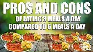3 Meals A Day -VS- 6 Meals A Day - IllPumpYouUp.com