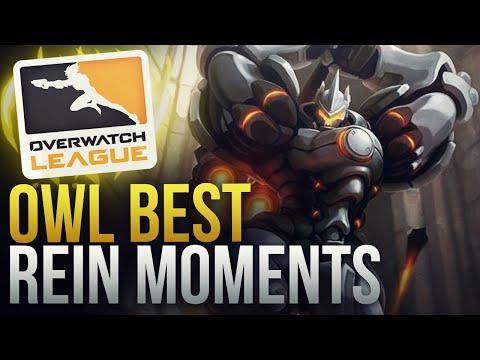 THE BEST REINHARDT PLAYS IN OVERWATCH LEAGUE S2 - Overwatch Montage
