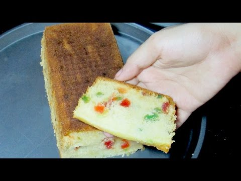 Video Tutti Frutti Cake - Fruit Cake Recipe - Tea Time Recipe