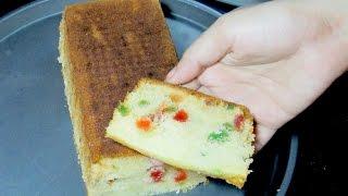 Tutti Frutti Cake - Fruit Cake Recipe - Tea Time Recipe