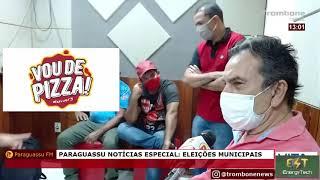 PARAGUASSU NOTÍCIAS ENTREVISTA ROGÉRIO E ORLANDO SANTIAGO