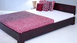 Bed Online - Damon Low Floor Bed Online In India @ Wooden Street