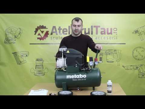 Compresor Metabo Basic 250-24 W - AtelierulTau.ro - WunderHaff