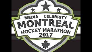 Montreal Media Celebrity Hockey Marathon 2017 Promo