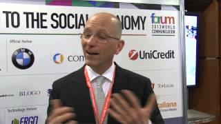 Youtube: Intervista a Marco Ehmer, World Communication Forum 2013